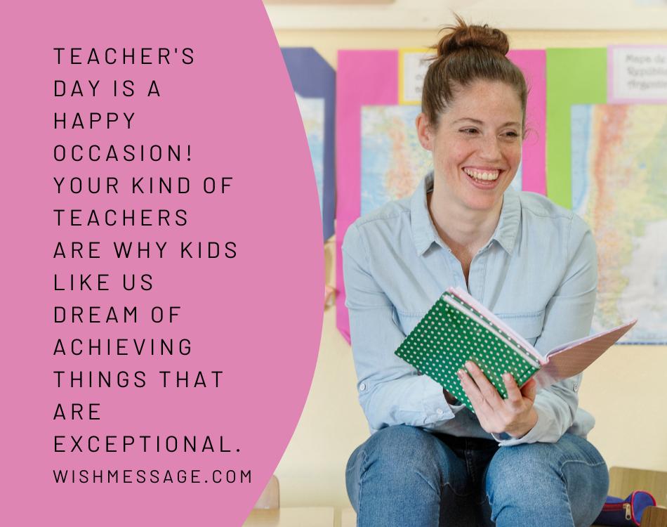 Happy World Teachers' Day 2021  Wishes
